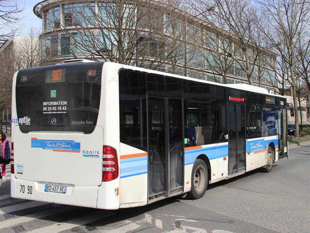 Trans Bus Phototh 232 Que Autobus Mercedes Citaro Keolis