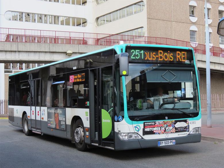trans 39 bus phototh que autobus mercedes citaro ratp bobigny. Black Bedroom Furniture Sets. Home Design Ideas