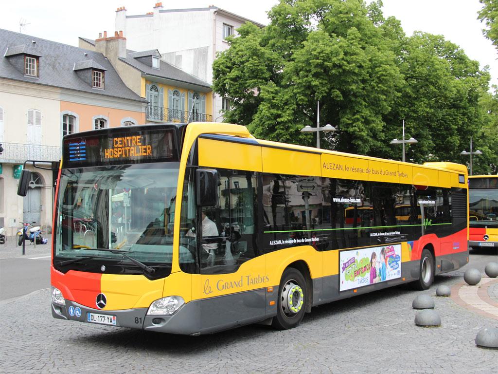 trans 39 bus phototh que autobus mercedes citaro alezan tarbes. Black Bedroom Furniture Sets. Home Design Ideas