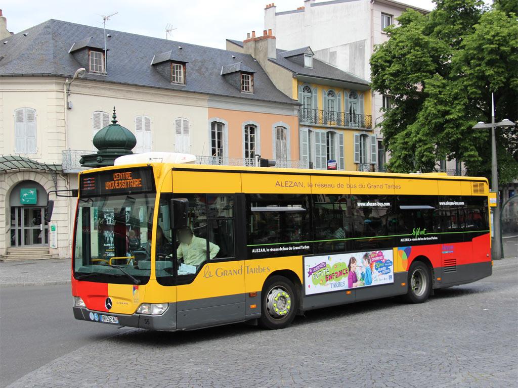 trans 39 bus phototh que autobus mercedes citaro k alezan tarbes. Black Bedroom Furniture Sets. Home Design Ideas