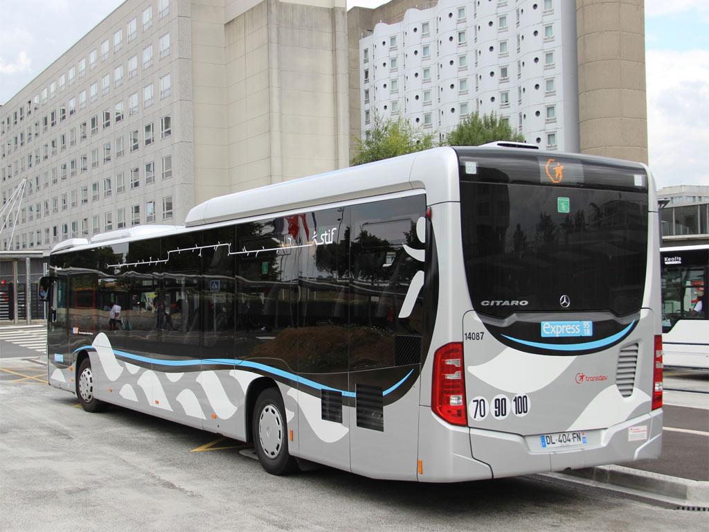 Trans 39 bus phototh que autobus mercedes citaro le m transdev ile de france express 95 18 - Garage mercedes ile de france ...