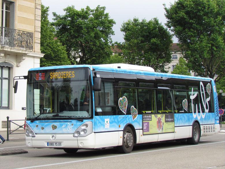 trans 39 bus phototh que autobus irisbus citelis 12 tub. Black Bedroom Furniture Sets. Home Design Ideas