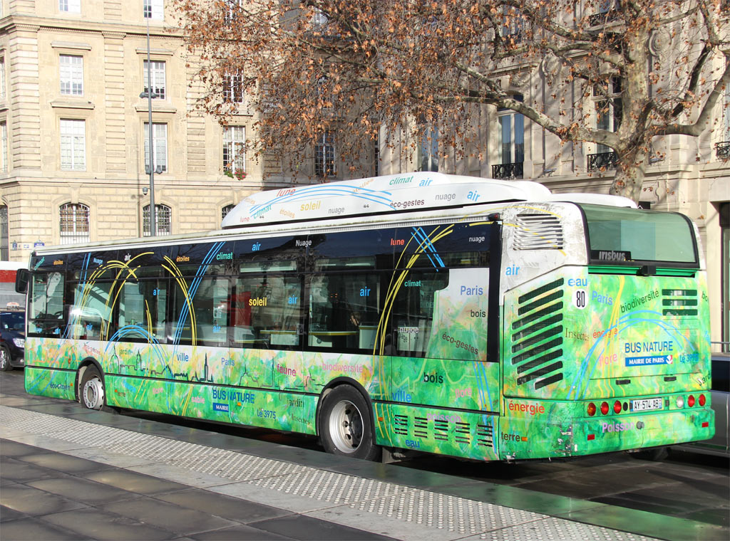 trans 39 bus phototh que autobus irisbus citelis 12 gnc mairie de paris. Black Bedroom Furniture Sets. Home Design Ideas