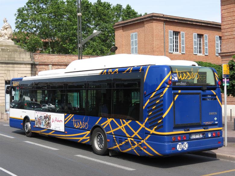 trans 39 bus phototh que autobus irisbus citelis 12 gnc tiss o toulouse. Black Bedroom Furniture Sets. Home Design Ideas