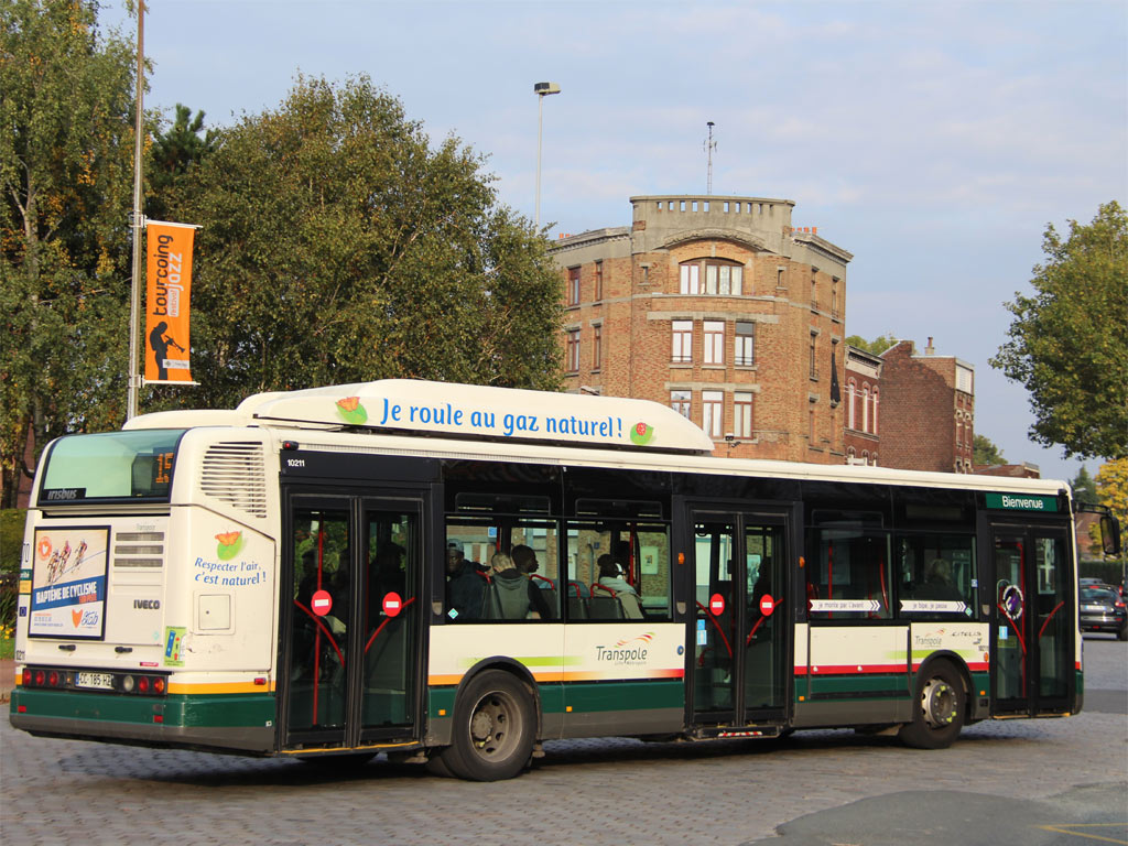 trans 39 bus phototh que autobus irisbus citelis 12 gnc transpole. Black Bedroom Furniture Sets. Home Design Ideas