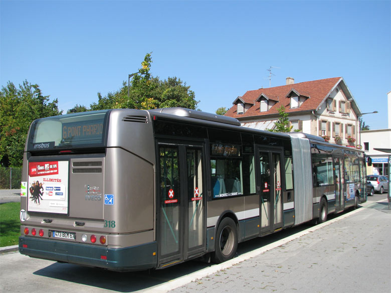 trans 39 bus phototh que autobus irisbus citelis 18 cts strasbourg. Black Bedroom Furniture Sets. Home Design Ideas