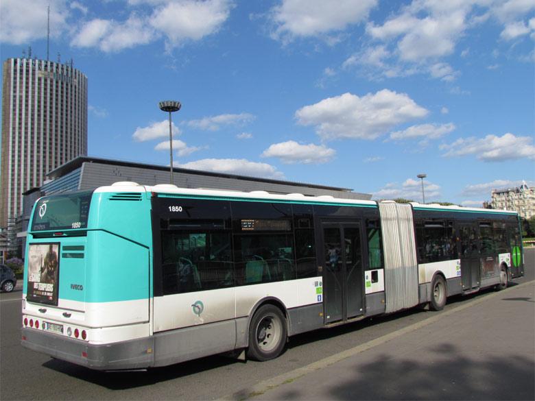 Trans Bus Phototh 232 Que Autobus Irisbus Citelis 18