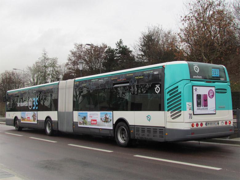 trans 39 bus phototh que autobus irisbus citelis 18 ratp paris. Black Bedroom Furniture Sets. Home Design Ideas
