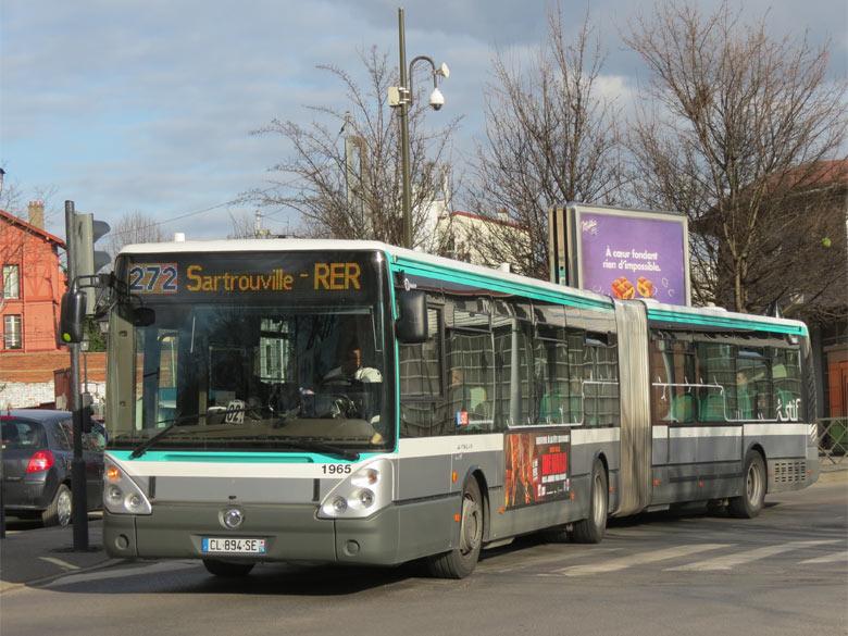 trans 39 bus phototh que autobus irisbus citelis 18 ratp. Black Bedroom Furniture Sets. Home Design Ideas