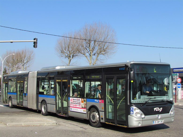 Trans 39 bus phototh que autobus irisbus citelis 18 tag - Bus grenoble lyon ...
