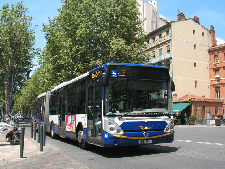 trans 39 bus phototh que autobus irisbus citelis 18 tiss o toulouse. Black Bedroom Furniture Sets. Home Design Ideas