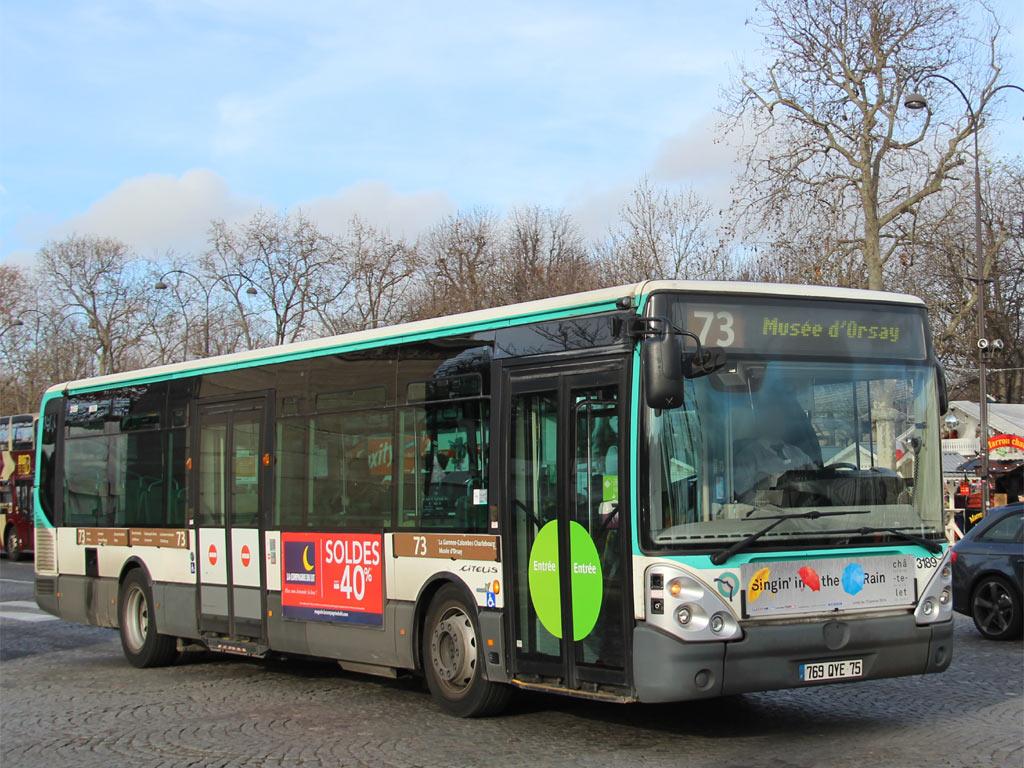 trans 39 bus phototh que autobus irisbus citelis line ratp 73. Black Bedroom Furniture Sets. Home Design Ideas