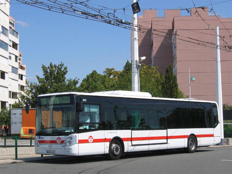 Trans 39 bus phototh que autobus irisbus citelis line - Lyon to geneva bus ...