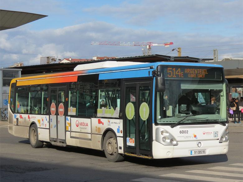 trans 39 bus phototh que autobus irisbus citelis line tvo argenteuil. Black Bedroom Furniture Sets. Home Design Ideas