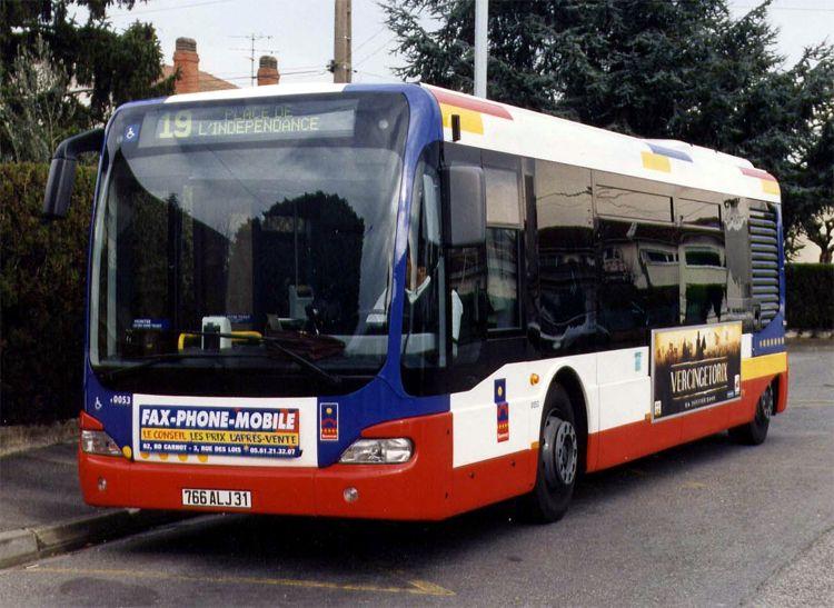trans 39 bus phototh que autobus mercedes cito semvat toulouse. Black Bedroom Furniture Sets. Home Design Ideas