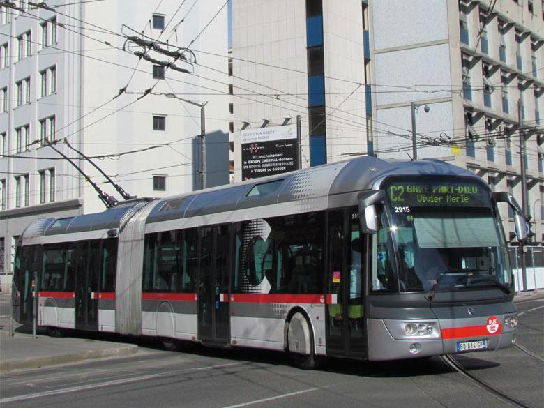 Trans 39 bus phototh que autobus irisbus cristalis tcl - Lyon to geneva bus ...