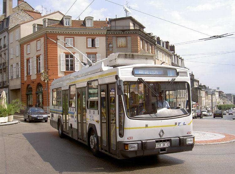 Trans 39 bus phototh que autobus renault er100 tcl - Ligne bus limoges ...