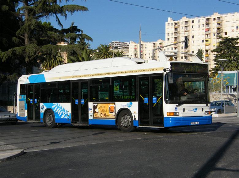 trans 39 bus phototh que autobus heuliez gx 217 gnv ligne d 39 azur nice. Black Bedroom Furniture Sets. Home Design Ideas