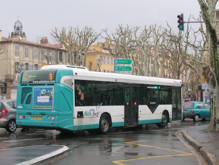 Trans 39 bus phototh que autobus heuliez gx 327 aix en - Aix en provence salon de provence bus ...