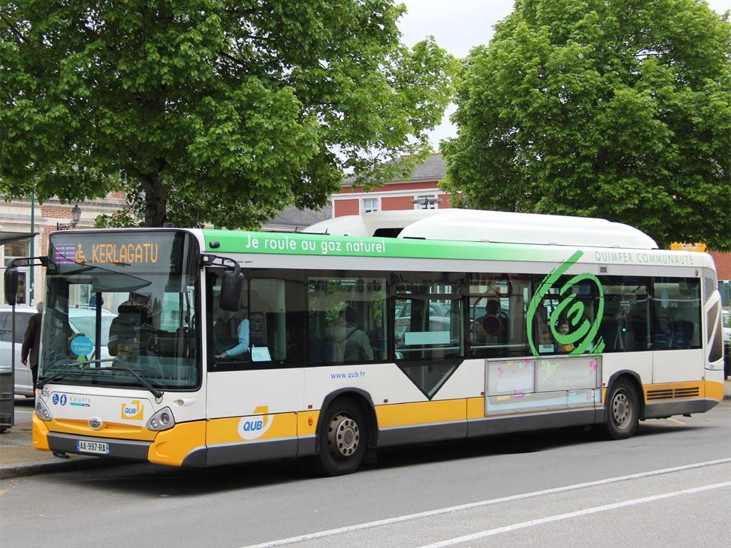 trans 39 bus phototh que autobus heuliez gx 327 gnv qub quimper. Black Bedroom Furniture Sets. Home Design Ideas