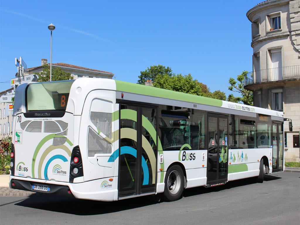 trans 39 bus phototh que autobus heuliez gx 337 buss saintes. Black Bedroom Furniture Sets. Home Design Ideas