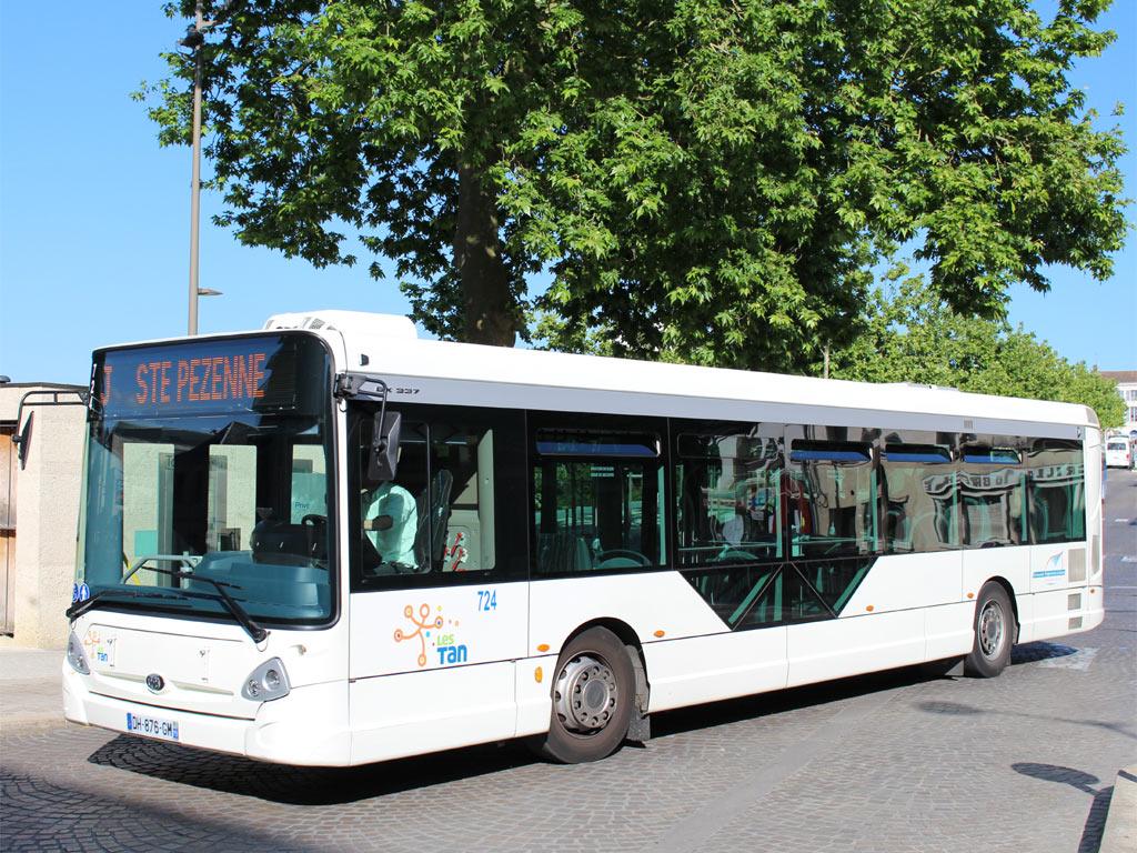 trans 39 bus phototh que autobus heuliez gx 337 tan niort. Black Bedroom Furniture Sets. Home Design Ideas