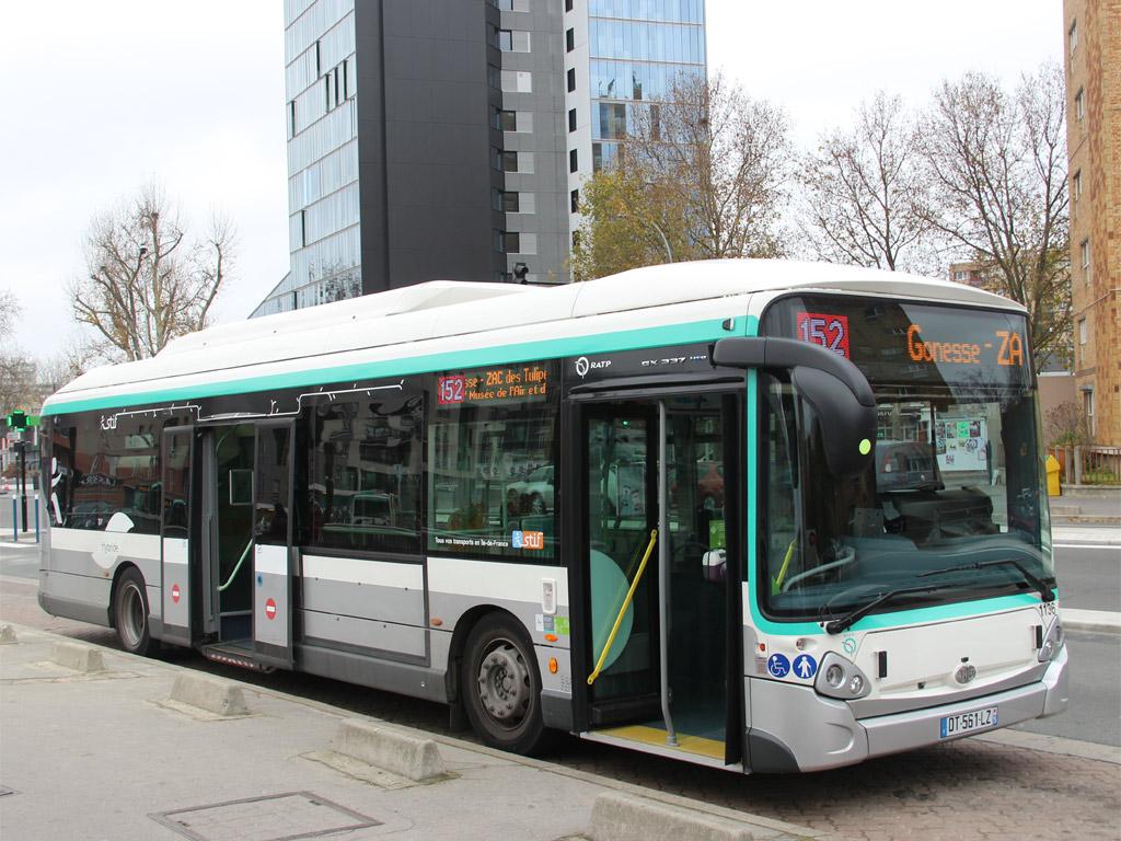 Trans Bus Phototh 232 Que Autobus Heuliez Gx 337 Hyb
