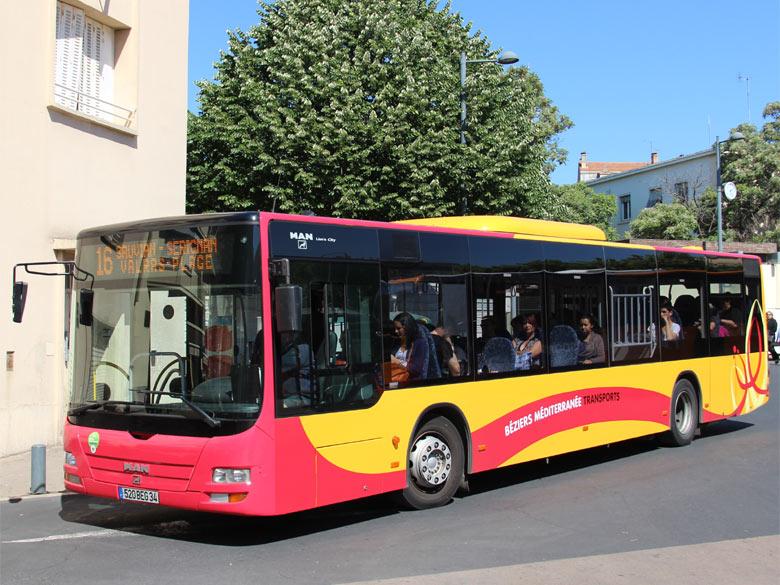 trans 39 bus phototh que autobus man lion 39 s city b ziers. Black Bedroom Furniture Sets. Home Design Ideas