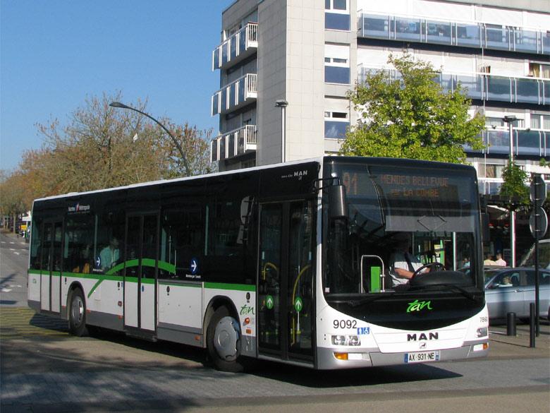 trans 39 bus phototh que autobus man lion 39 s city cta nantes. Black Bedroom Furniture Sets. Home Design Ideas