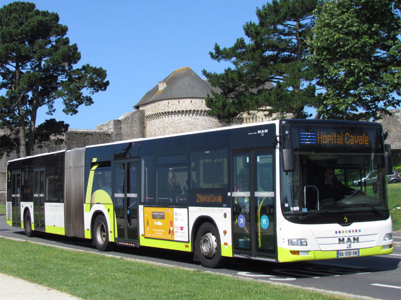 trans 39 bus phototh que autobus man lion 39 s city g bibus brest. Black Bedroom Furniture Sets. Home Design Ideas