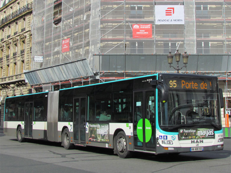 trans 39 bus phototh que autobus man lion 39 s city g ratp paris. Black Bedroom Furniture Sets. Home Design Ideas