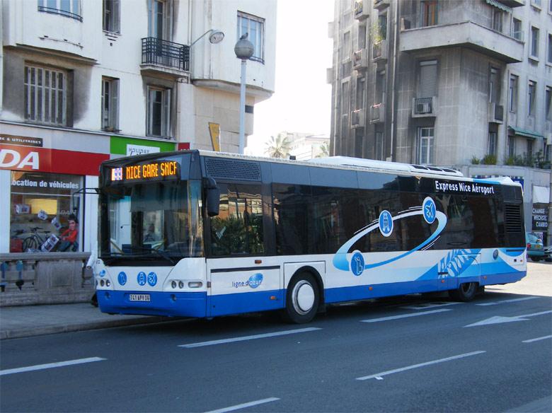 trans 39 bus phototh que autobus neoplan n4416 ligne d 39 azur nice. Black Bedroom Furniture Sets. Home Design Ideas
