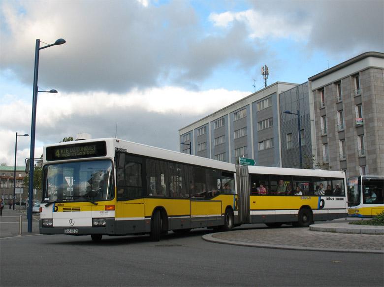 trans 39 bus phototh que autobus mercedes o 405 gn bibus brest. Black Bedroom Furniture Sets. Home Design Ideas
