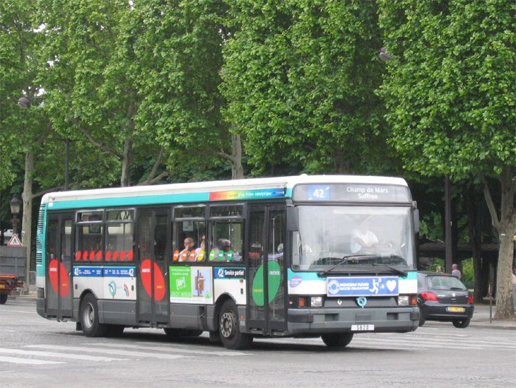trans 39 bus phototh que autobus renault r 312 ratp paris. Black Bedroom Furniture Sets. Home Design Ideas