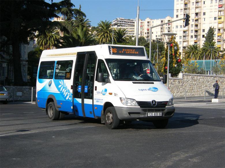trans 39 bus phototh que autobus mercedes sprinter ligne d 39 azur nice. Black Bedroom Furniture Sets. Home Design Ideas