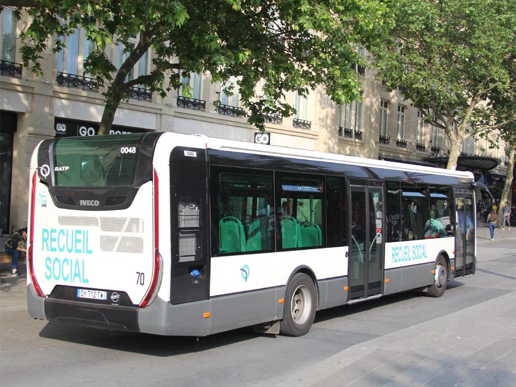 trans 39 bus phototh que autobus iveco urbanway ratp recueil social. Black Bedroom Furniture Sets. Home Design Ideas