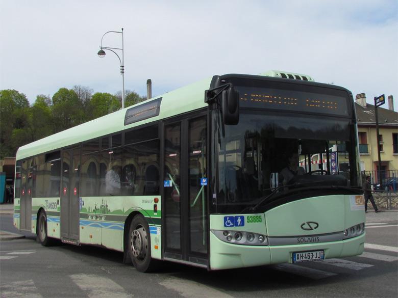trans 39 bus phototh que autobus solaris urbino 12