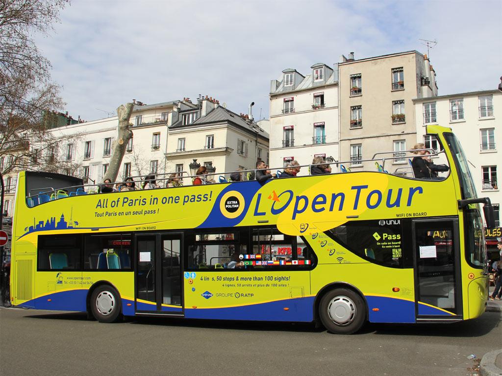 Le Open Tour Paris