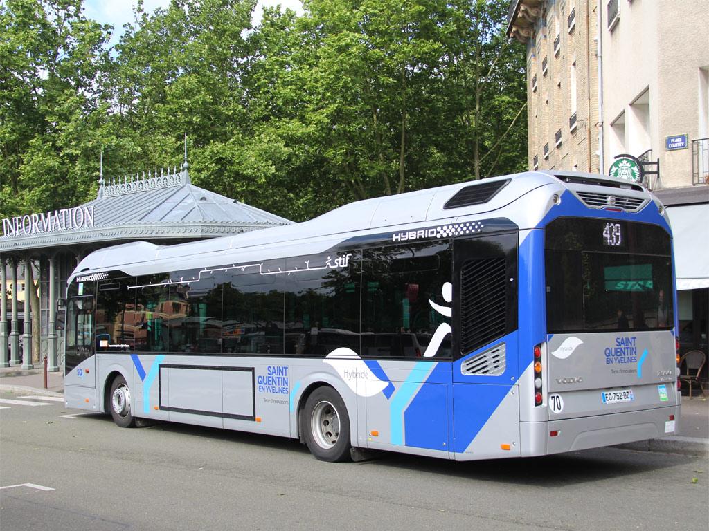 trans 39 bus phototh que autobus volvo 7900 hybrid sqybus savac. Black Bedroom Furniture Sets. Home Design Ideas