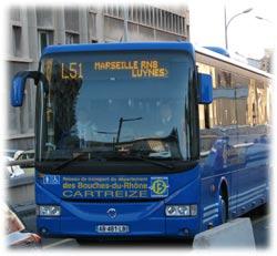 Trans 39 bus r seaux d partement bouches du rh ne - Bus salon de provence ...