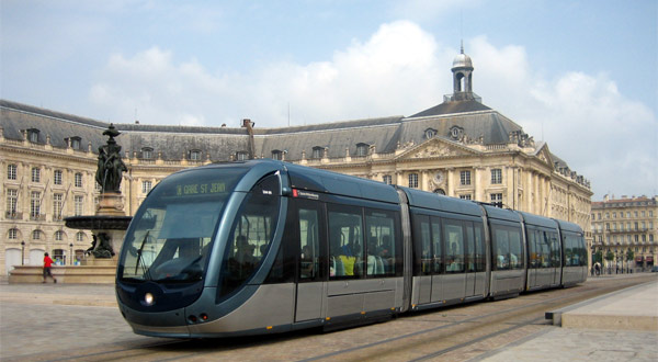 Tramway à Bordeaux - photo : Olivier MEYER