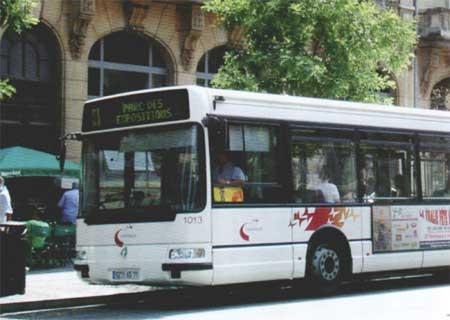 TRANS\'BUS - Réseaux - 71100 : Chalon-sur-Saône - Zoom